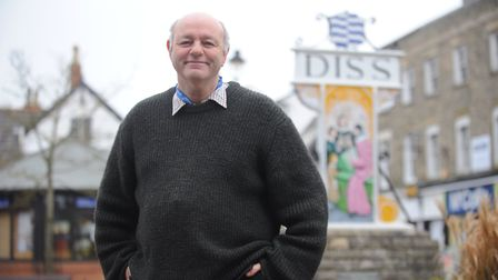 Former mayor of Diss Keith Kiddie has stepped down from his role as a town councillor. Picture by: S