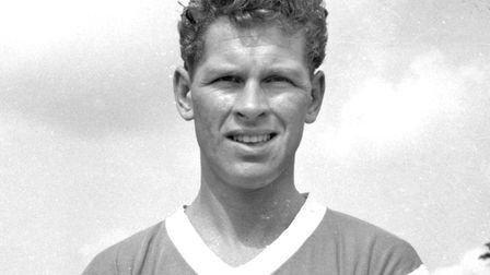 Ipswich Town legend Ray Crawford. Picture: ARCHANT LIBRARY