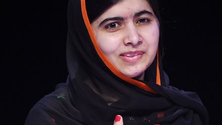 Malala Yousafzai's quotes are included in the notebook which will be on display. Photo: PA Wire/PA I