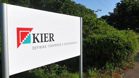 The Kier offices in Norwich, formerly the home of May Gurney which Kier acquired ini 2013.