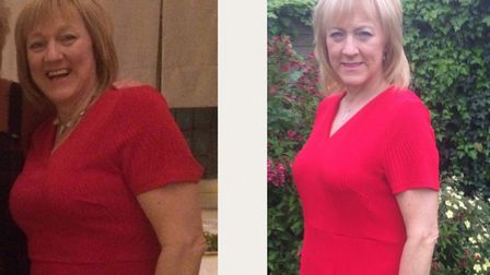 Bev Hansey, 50, lost two and a half stone with Slimming World and went on to start her own group in