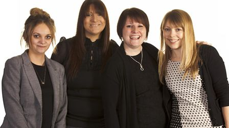 The new marketing team at Denny Bros features Lucy Denny, Nicola Salisbury, Paula Armstrong and Step