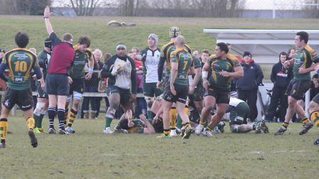Bury v Guernsey in National League 3 Rugby