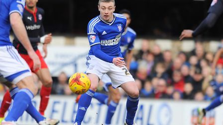 Freddie Sears in action against Reading. Photo: Gregg Brown