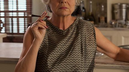 Julie Walters as the scheming Cynthia in Channel 4's Indian Summers