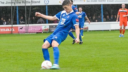 Joe Whight, who has sealed a move to Needham Market from Bury Town