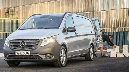 New Mercedes-Benz Vito is offered as panel and crew vans and Tourer people-carrier with 1.6 and 2.1-