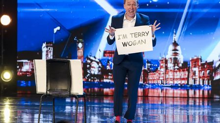 Ben Langley during the audition stage for ITV1's talent show, Britain's Got Talent. Photo: Tom Dymon