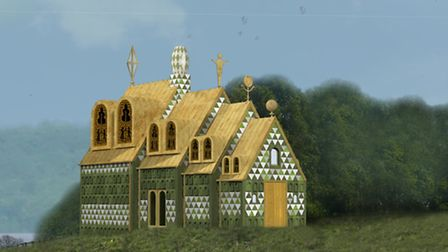 A House for Essex, holiday home in Wrabness designed by Grayson Perry and FAT Architecture. Image co