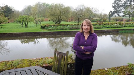 Lady Valerie Hart is pictured at Chilton Hall on the outskirts of Sudbury. The proposed Prolog devel