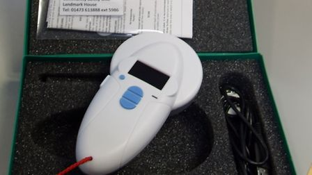 Multi-chip scanner bought by Suffolk Constabulary to identify stray animals