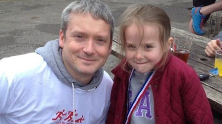 lee wilding and his daughter Charlotte