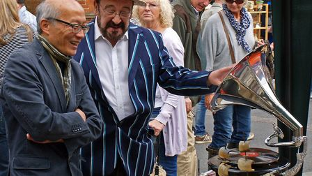 Harleston Antiques Street Market and Street Party. Pictrue: Ian Carstairs