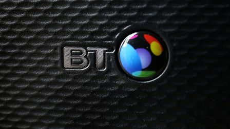 A BT infinity router. The company has revealed that its pension deficit has swollen to �7billion.