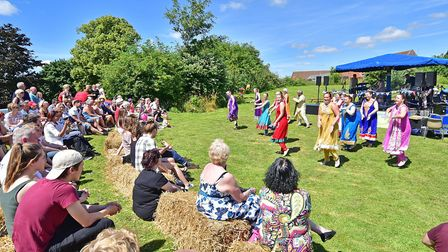 South Norfolk Show. Bollywood Sparkle entertaining the crowd last year. Picture: ANTONY KELLY