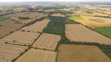 Land at Braiseworth near Eye which sold through Savills at Ipswich in 2013 comfortably in excess of