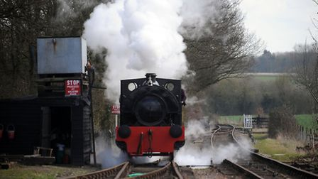 The Mid Suffolk Light Railway prepares for its Easter weekend event.