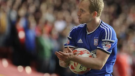 Jonny Williams, pictured during his time at Ipswich Town earlier this season. Photo: PAGEPIX LTD