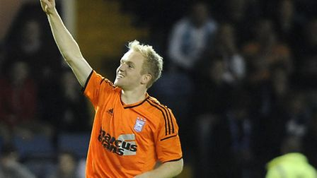 Jonny Williams, pictured during his loan spell at Ipswich Town earlier this season