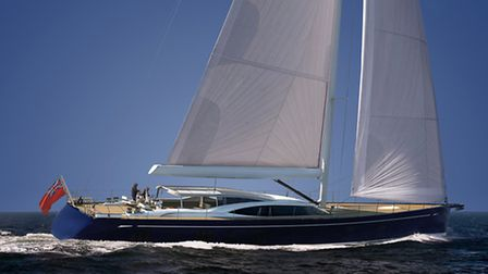 Oyster Yachts new 118 model