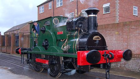 Preparations for the Leiston Long Shop Steam Up reopening event this weekend.