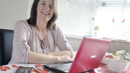 The Savvy Wedding Planner Katherine Cresswell works from her Ipswich home.