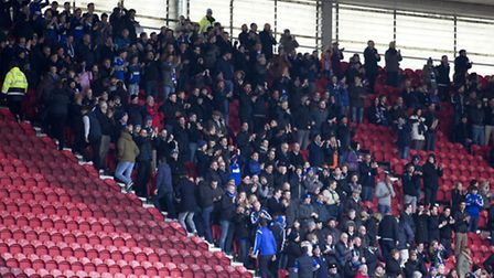 444 Ipswich Town fans made the journey to the Riverside Stadium, Middlesbrough on Saturday. A game I