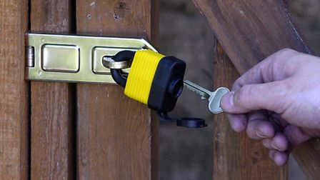 Police are advising residents to lock their property after a series of burglaries