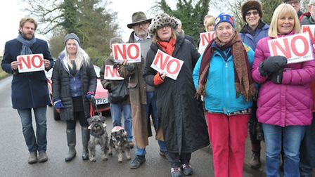 Members of FRAm protested against previous housing developments in Framlingham, but have welcomed th