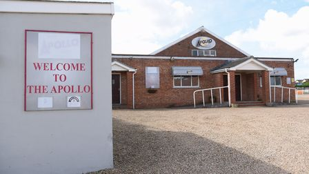 The Apollo Club at Harleston which could be demolished. Picture: DENISE BRADLEY