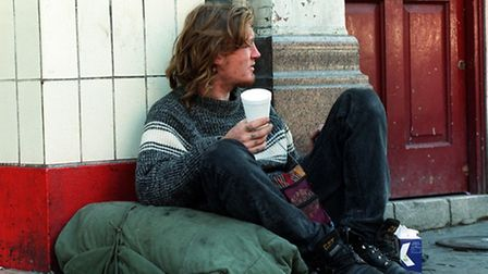 Homelessness is increasingly a problem in St Edmundsbury. PA Photo.