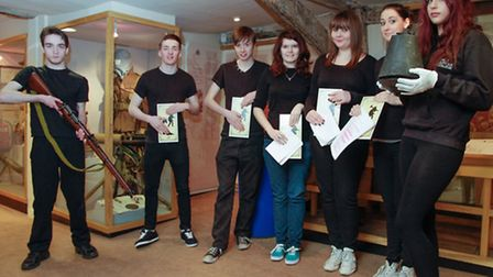 West Suffolk College's Conservatoire EAST are helping to launch a Great War exhibition at Moyse's Ha