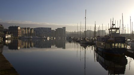 The Waterfront in Ipswich.