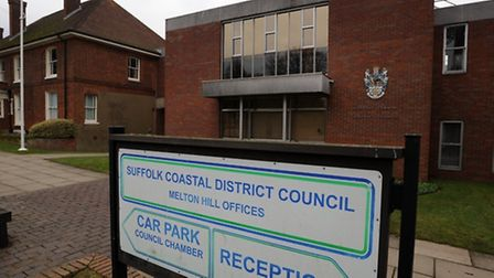 Suffolk Coastal District Council's HQ - set to be demolished and sold to make way for housing.