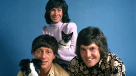 Was Blue Peter one of your favourites? (L-R) John Noakes, Valerie Singleton, and Peter Purves in Blu