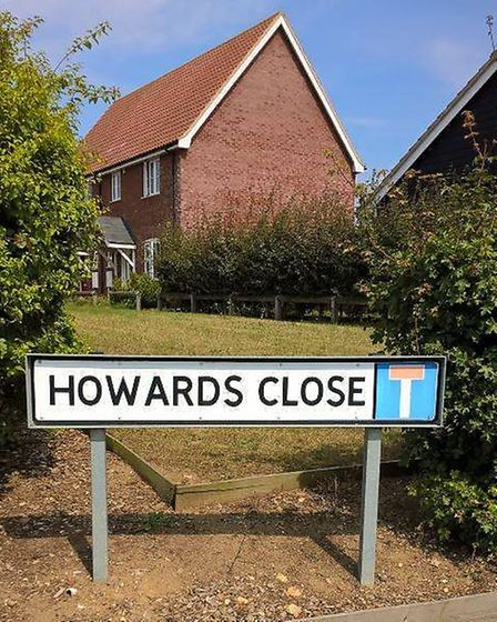 Howards Close development in Wortham. Picture: Orwell Housing Association