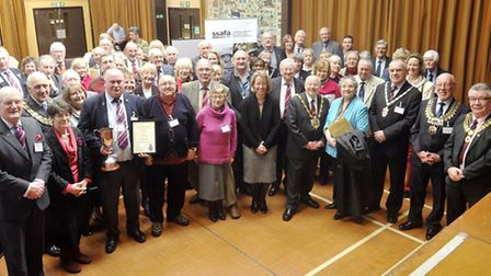 SSAFA gathered its members and local dignitaries for their annual general meeting at the Needham Mar