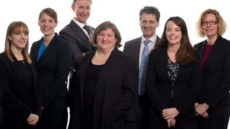 Members of the business services department at law firm Barker Gotelee.
