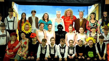 The panto season over - Oh no it isn't: The Snow Queen staged by the Barton Players is their annual