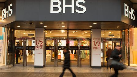 The BHS store on Oxford Street in London.