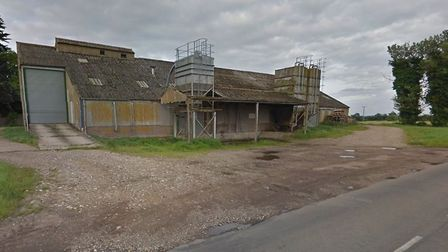 Buildings at Church Farm in North Lopham that will be demolished to make way for new homes. Picture: