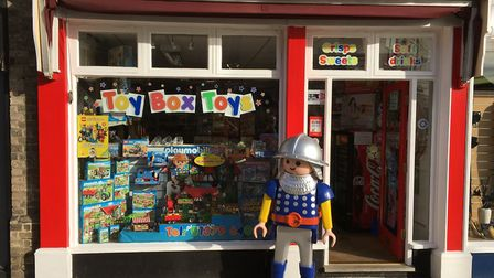 Toybox Toys in Diss that is set to close in September. Picture: Toybox Toys