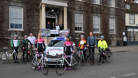 The official launch of the opening stage of the 2015 Friends Life Women's Tour, which will start fro