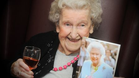 Molly Watson from Melford Court Nursing Home celebrated her 100th birthday on Saturday.