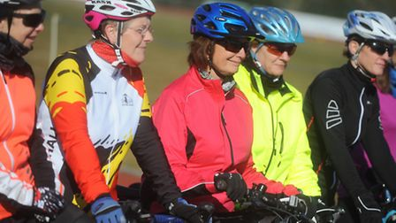 Female cyclists from across Bury St Edmunds will take part in the Women on Wheels ride for St Nichol
