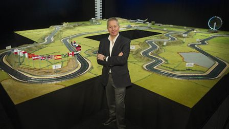 Scalextric has created Martin Brundle�s Ultimate 2015 Circuit, the biggest layout it has ever create