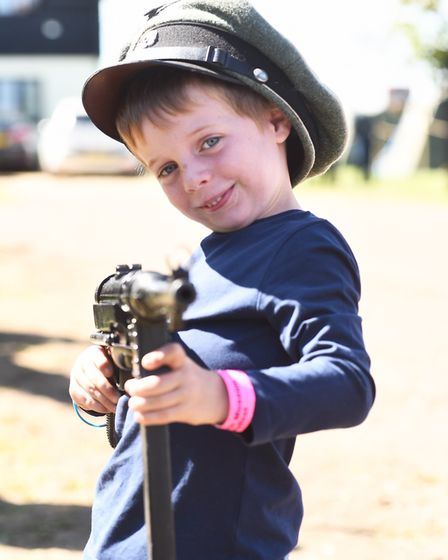 Armourfest at the Norfolk Tank MuseumGeorge Williams Byline: Sonya DuncanCopyright: Archant 2018