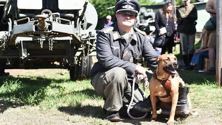 Armourfest at the Norfolk Tank MuseumSimon Payne and IsByline: Sonya DuncanCopyright: Archant 2018