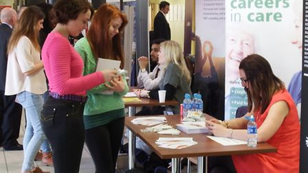 Careers fair at West Suffolk College