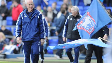 Mick McCarthy before the clash with Brentford